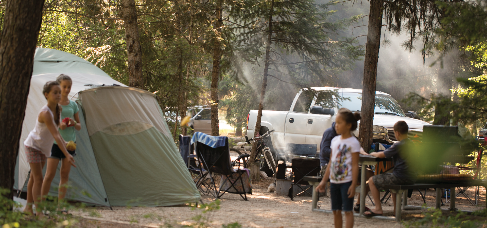 Camping in Idaho, Move to Idaho